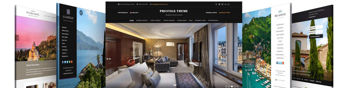 Browse the Largest Collection of Hotel WordPress Themes