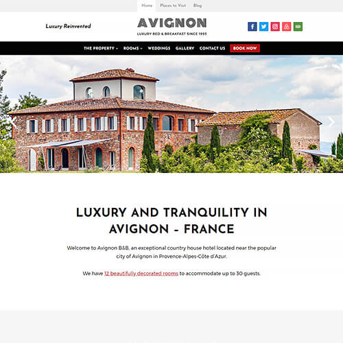 Avignon WordPress Theme Screenshot
