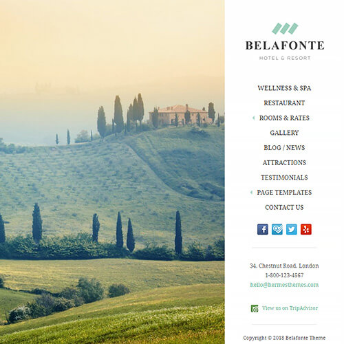 Belafonte WordPress Theme Screenshot