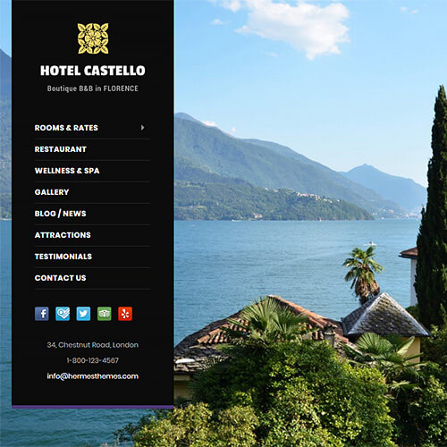 Castello WordPress Theme Screenshot