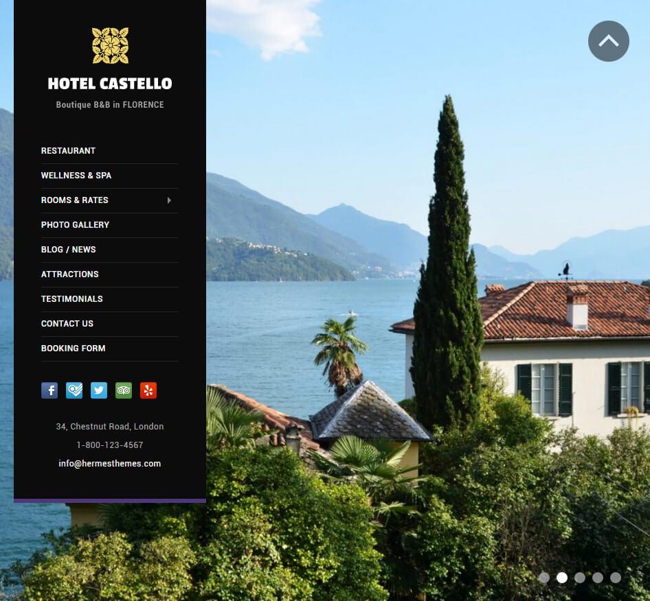 Castello WordPress Theme Screenshot