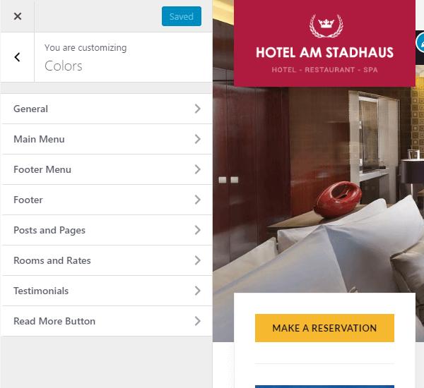Gasthaus Theme Customization
