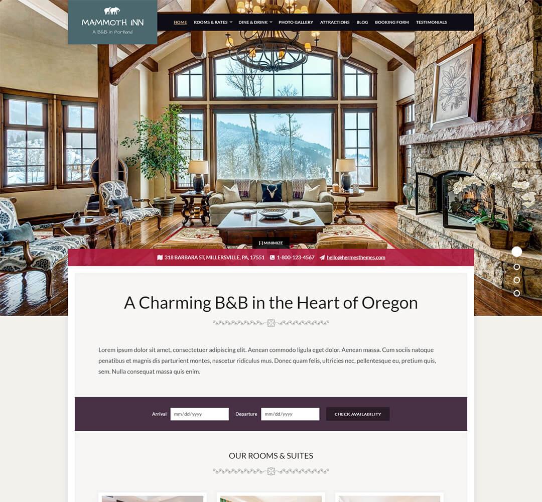 Mammoth WordPress Theme Screenshot
