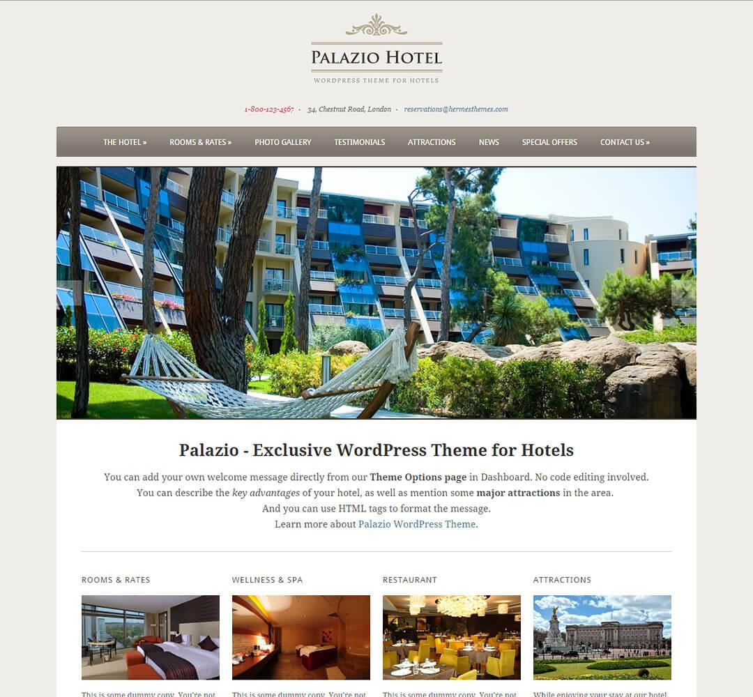 Palazio WordPress Theme Screenshot