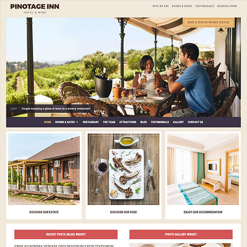Pinotage WordPress Theme Screenshot
