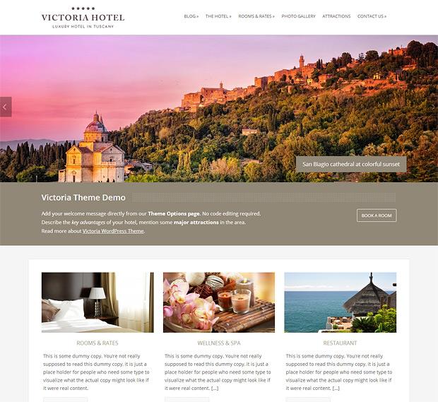 Victoria WordPress Theme