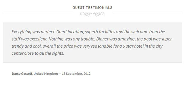 All of our WordPress themes have a special page template for displaying testimonials.