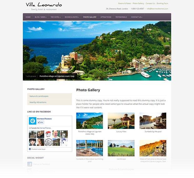 leonardo-wordpress-theme-gallery