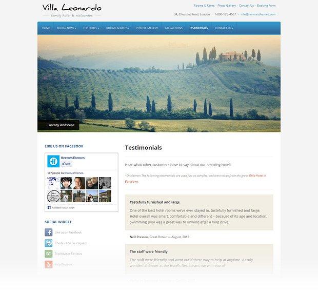 leonardo-wordpress-theme-testimonials