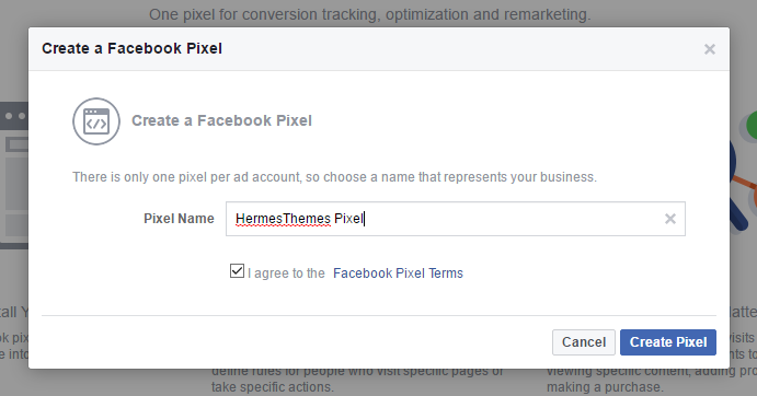 how to create your facebook pixel