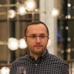 Photo of Dumitru Brinzan, the author of this post